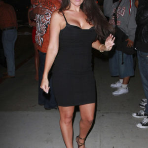 Amy Fisher little black dress