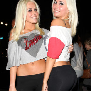 Playboy Shannon twins tight asses