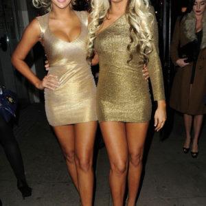 Sexy blond twins