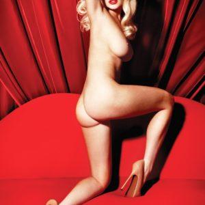 Lindsay Lohan Playboy ass