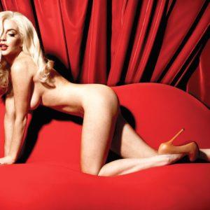 Lindsay Lohan doggy style