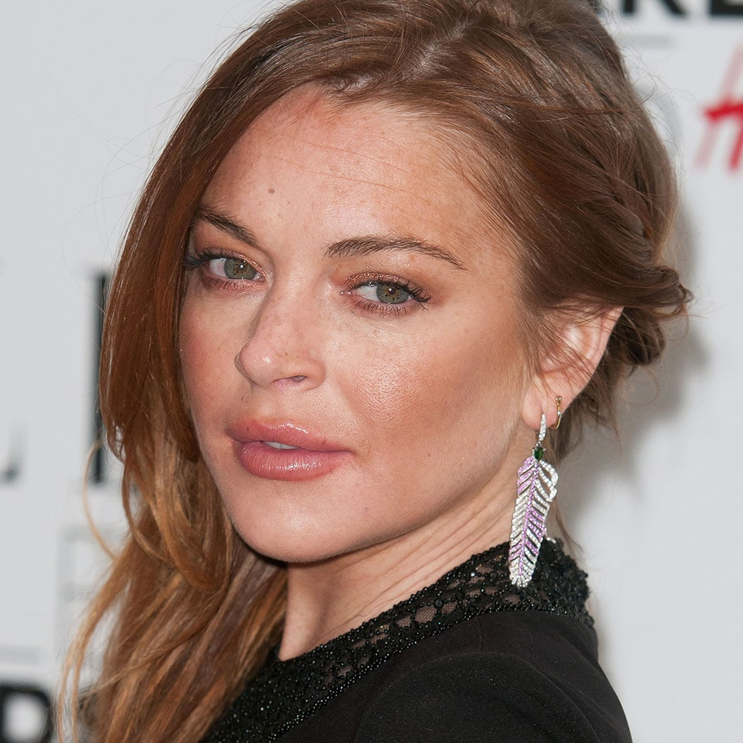 Lindsay Lohan attending the Elle Style Awards 2015 at The Sky Garden on February 24, 2015 in London./picture alliance Photo by: Lexie Appleby/Geisler-Fotopress/picture-alliance/dpa/AP Images