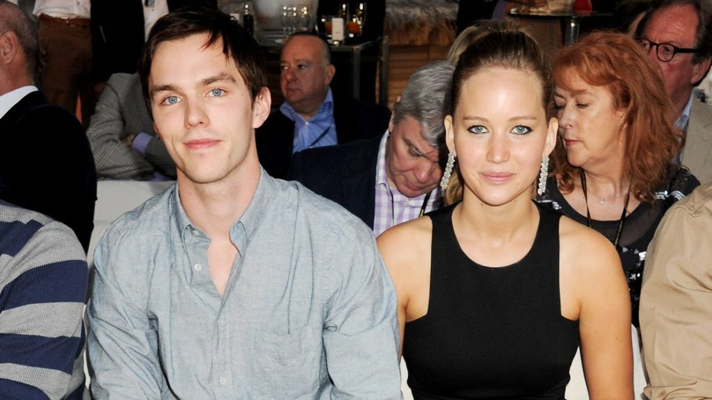 Jennifer Lawrence dated co-star Nicholas Hoult