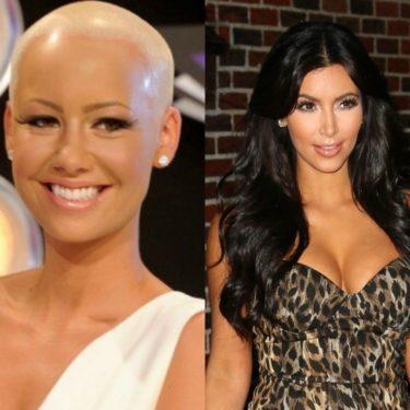 Amber Rose vs Kim Kardashian Instagram, Twitter Beef