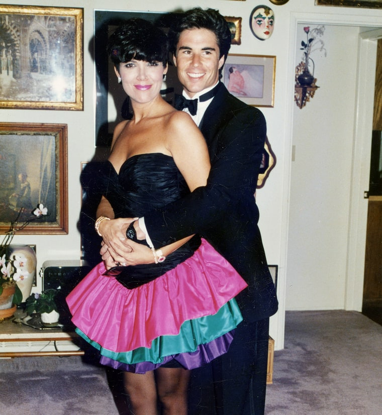 Kris Jenner with Todd Waterman Affair