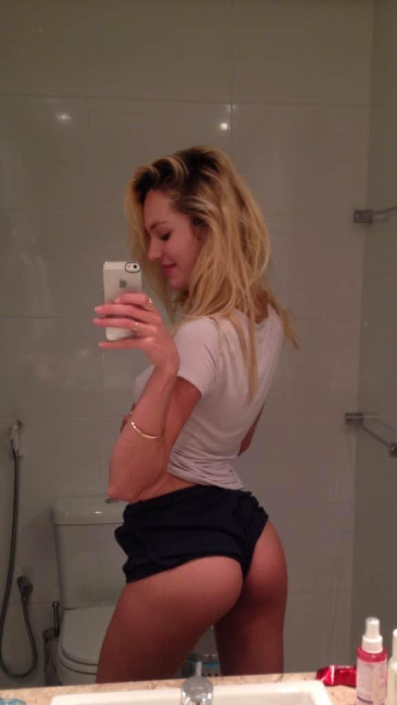 Candice Swanepoel naked selfie