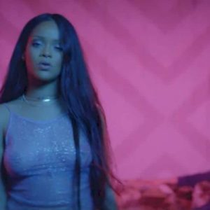 Rihanna tits visible