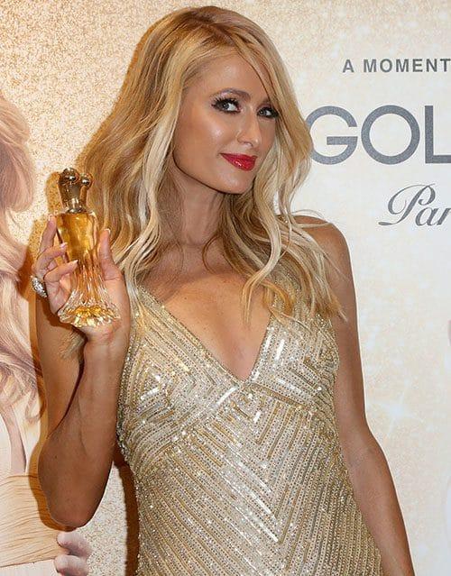Paris Hilton & Her Perfume
