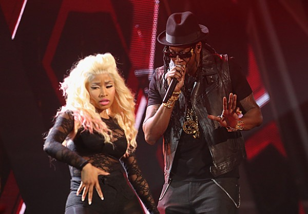 "Nicki performing ""champion"""